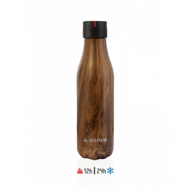 Botella termo Les Artistes UP 750ml madera