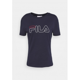 Camiseta manga corta Fila Ladan marino mujer