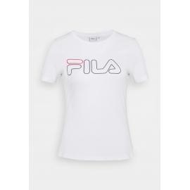 Camiseta manga corta Fila Ladan blanco mujer
