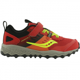 Zapatillas Trail Saucony Peregrine 10 Shield A/C rojo junior