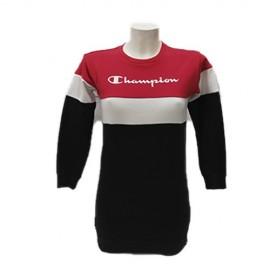 Vestido Champion 403662 rojo/marino niña