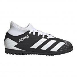 Zapatillas fútbol adidas Predator 20.4 S IIC negro/blanco jr
