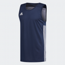 Camiseta Adidas 3G Speed Reversible Azul  hombre