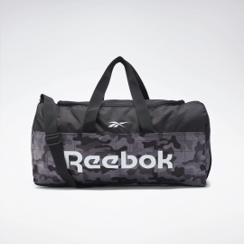 Bolsa deporte Reebok Active Core Grip negro/gris camuflaje