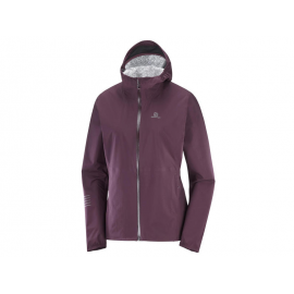 Chaqueta trail running Salomon Lightning Wp morado mujer