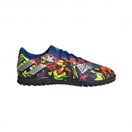 Zapatillas fútbol adidas Nemeziz Messi 19.4 TF multicolor