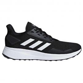Zapatillas adidas Duramo 9 negro blanco hombre