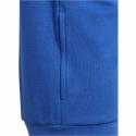 Sudadera adidas Bold Fleece Hoodded azul blanco junior