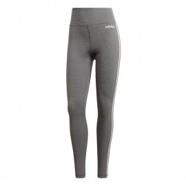 Mallas adidas Design Move 2 3S High Rise Regular gris mujer