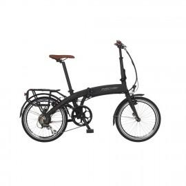 Bicicleta electrica plegable Fischer Fr 18  negro mate