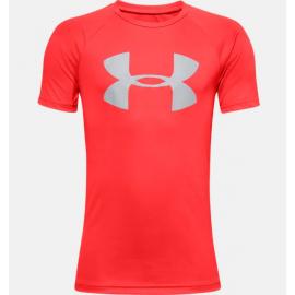 Camiseta Under Armour Tech Big logo rojo niño