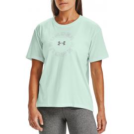 Camiseta Under Armour Live Fashion WM Graphic verde mujer