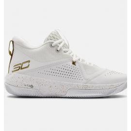 Zapatillas baloncesto Under Armour SC 3Zero IV blanco hombre