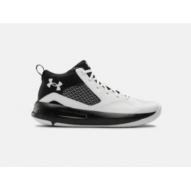 Zapatillas Baloncesto Under Armour Lockdown 5 blanco negro
