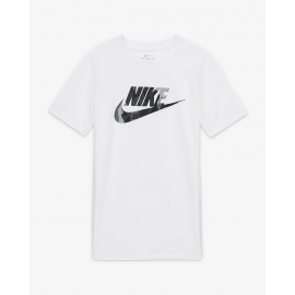 Camiseta Nike Sportwear Big Kids blanco junior