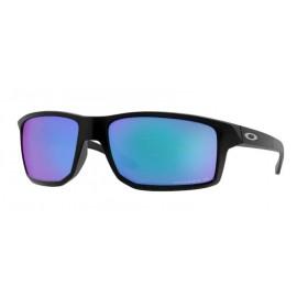 Gafas Oakley Gibston negro mate lentes prizm sapphire