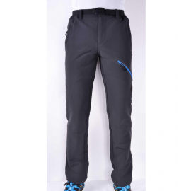 Pantalon montaña Coromell Breezy gris/azul hombre