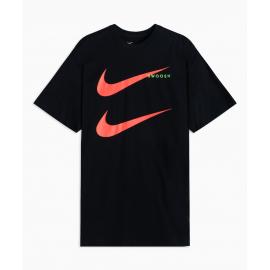 Camiseta Nike Sportwear Swoosh PK 2 negro/rojo hombre