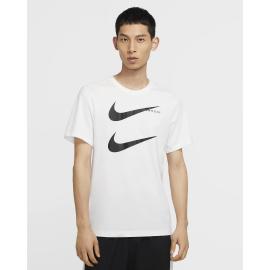 Camiseta Nike Sportwear Swoosh PK 2 blanco/negro hombre