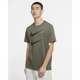 Camiseta Nike Sportwear Swoosh PK 2 verde/negro hombre