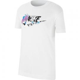 Camiseta Nike Sportwear Iconclash blanco niña