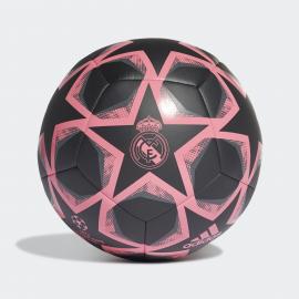 Balón fútbol adidas Finale 20 Real Madrid negro rosa
