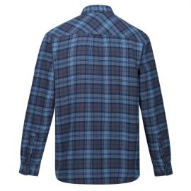 Camisa outdoor Regatta Tavior cuadros azul hombre