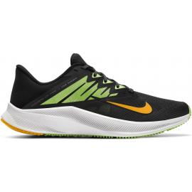 Zapatillas Nike Quest 3 negro/lima hombre