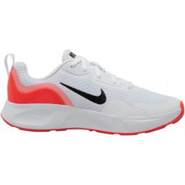 Zapatillas running Nike Wear all Day blanco/rojo junior