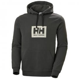 Sudadera outdoor Helly Hanseen Box Hoode gris  hombre