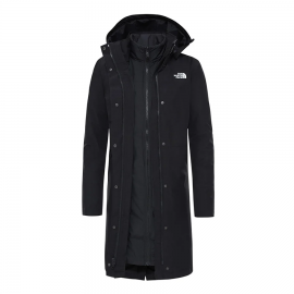 Abrigo The North Face Recycled Suzanne Triclimate negro muje