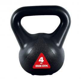 Kettlebell Iron Gym 4kg negro