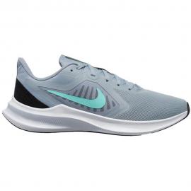 Zapatillas Nike Downshifter 10 gris/turquesa mujer