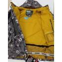 ANORACK 686 negro amarillo