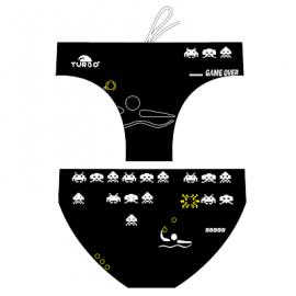 Bañador waterpolo Turbo Invader negro hombre