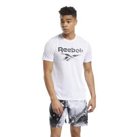 Camiseta Reebok Actron blanco hombre