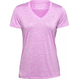 Camiseta Under Armour Tech SSV Twist morado mujer
