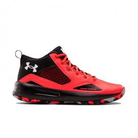 Zapatillas baloncesto Under Armour Lockdown 5 rojo negro PS