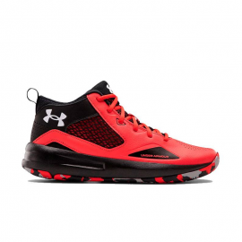 Zapatillas baloncesto Under Armour Lockdown 5 rojo/negro PS