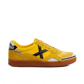 Zapatillas fútbol Munich Gresca 286 amarillo/negro hombre