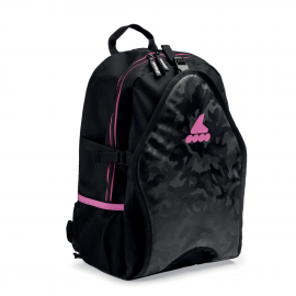 Mochila patines Rollerblade Backpack LT 15 negro rosa