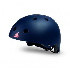 Casco Rollerblade Helmet CE azul naranja junior