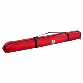 Funda esquí Salomon Extend 1 Pair 165+20 Skibag rojo