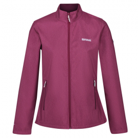 Chaqueta outdoor Connie IV regatta burdeos mujer