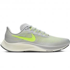 Zapatillas running Nike Air Zoom Pegasus 37 gris/lima hombre