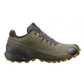 Zapatillas trail Salomon SpeedCross 5 GTX verde hombre