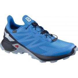 Zapatillas trail  Salomon SuperCross Blast GTX azul hombre