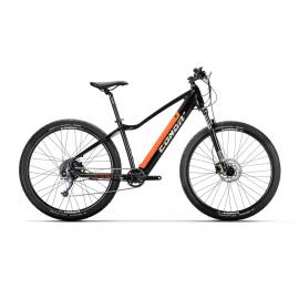 "Bicicleta Conor E-MTB Java 29"" Negro/Naranja"