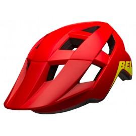 Casco Bell Spark red-hiviz junior
