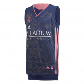 Camiseta baloncesto adidas Real Madrid 2020-21 azul junior